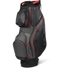 Sun Mountain Teton Cart Bag - Black-Gunmetal-Red