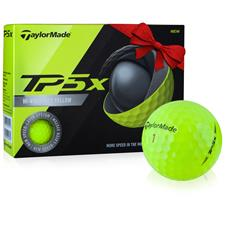 Taylor Made Custom Logo TP5x Yellow Golf Balls