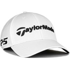 Taylor Made Men's Tour Cage Radar Hat - White - Large/X-Large