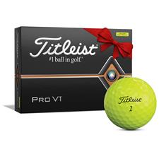 Titleist Pro V1 Yellow Monogram Golf Balls