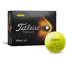 Titleist 2021 Pro V1 Yellow Custom Logo Golf Balls