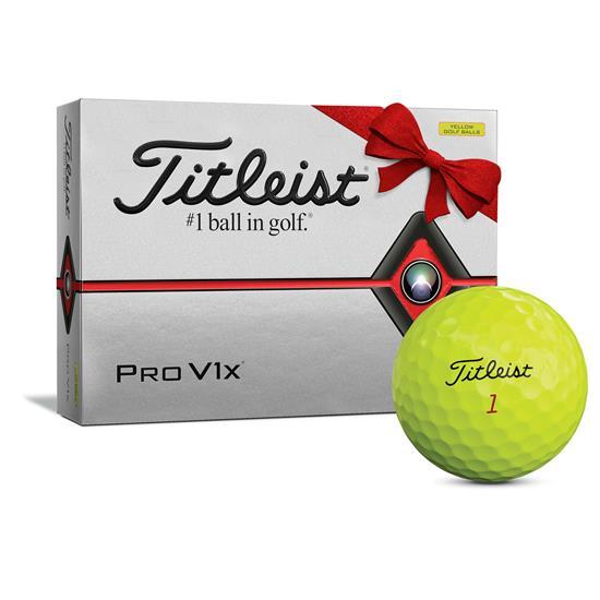Titleist Pro V1x Yellow Golf Balls