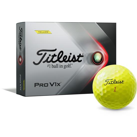 Titleist 2021 Pro V1x Yellow Golf Balls