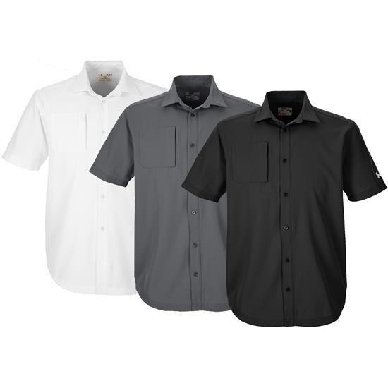 Under Armour Men's UA Ultimate Short Sleeve Button Down Shirt