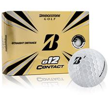 Bridgestone Custom Logo e12 Contact Golf Balls - 2021 Model