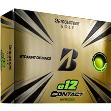 Bridgestone e12 Contact Matte Green Personalized Golf Balls