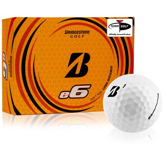 Bridgestone e6 Personalized Golf Balls