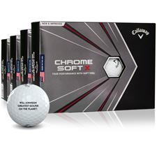 Callaway Golf Chrome Soft X Photo Golf Balls - Buy 3 DZ Get 1 DZ Free