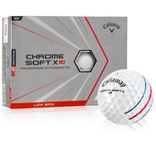 Callaway Golf Chrome Soft X LS Triple Track Personalized Golf Balls