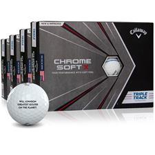 Callaway Golf Chrome Soft X Triple Track Golf Ball - Buy 3 Get 1