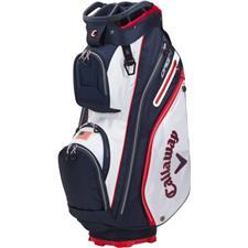 Callaway Golf ORG 14 Cart Bag - White-Navy-Red Flag