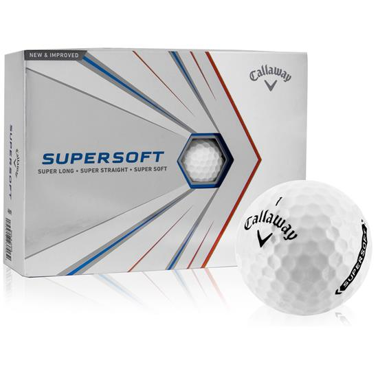 Callaway Golf Supersoft Golf Balls - 2021 Model
