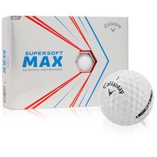 Callaway Golf Supersoft Max Golf Balls - 2021 Model