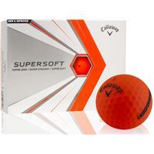 Callaway Golf Supersoft Orange Golf Balls - 2021 Model