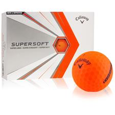 Callaway Golf Supersoft Orange Personalized Golf Balls