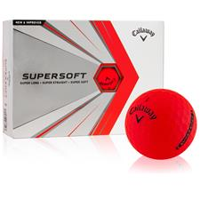 Callaway Golf Supersoft Red Custom Logo Golf Balls
