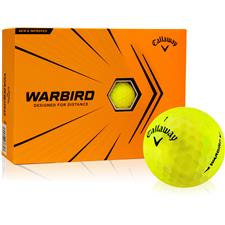 Callaway Golf Warbird Yellow Golf Balls - 2021 Model