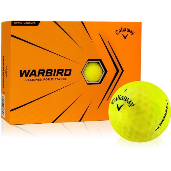 Callaway Golf Warbird Yellow Golf Balls - 2021 Model