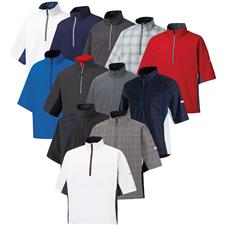 FootJoy Men's FJ HydroLite Short Sleeve Rain Shirt