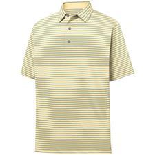 FootJoy Men's Lisle Classic Stripe Polo