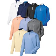 FootJoy Men's Long Sleeve Half-Zip Pullover