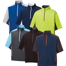 FootJoy Men's Short Sleeve Sport Windshirt Pullover