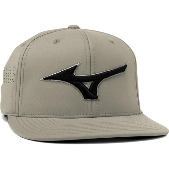 Mizuno Men's Tour Flat Snapback Hat