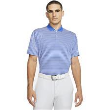 Nike Game Royal-White Dri-Fit Victory Stripe Polo