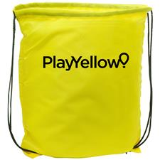 Play Yellow Drawstring Bag