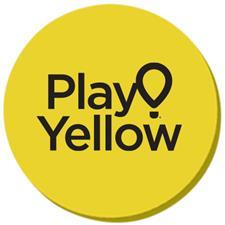 Play Yellow Plastic Ball Marker