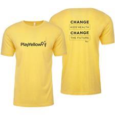 Play Yellow Men's Soft Style T-Shirt