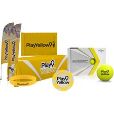 Play Yellow Tournament Fundraiser Starter Kit