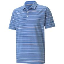 Puma Men's Mattr Fine Stripe Polo