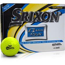 Srixon Custom Logo Q-Star Tour 3 Yellow Golf Balls