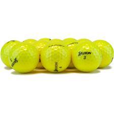 Srixon Logo Overrun Q-Star Yellow Golf Balls