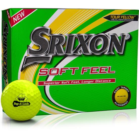 Srixon Soft Feel Yellow 12 Golf Balls