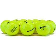 Srixon Logo Overrun Soft Feel Yellow 12 Golf Balls