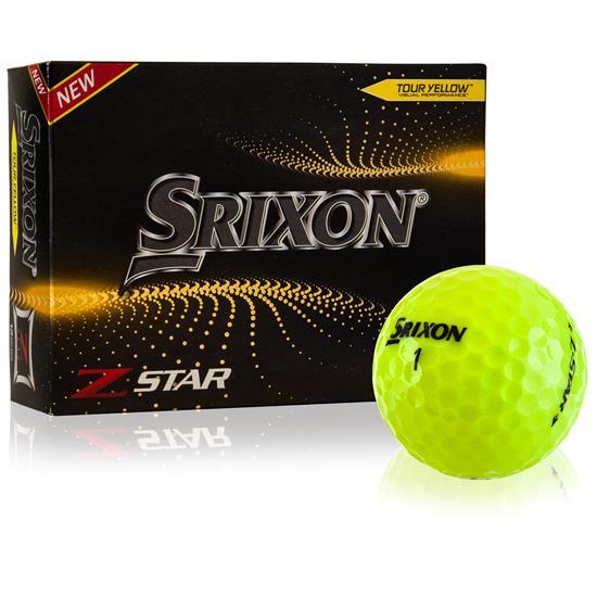 Srixon Z-Star 7 Yellow Golf Balls - 2021 Model