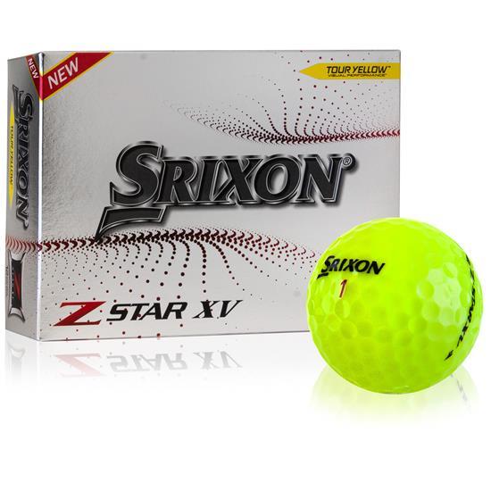 Srixon Z-Star XV 7 Yellow Golf Balls - 2021 Model
