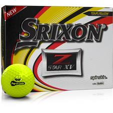 Srixon Z Star XV Yellow Custom Express Logo Golf Balls