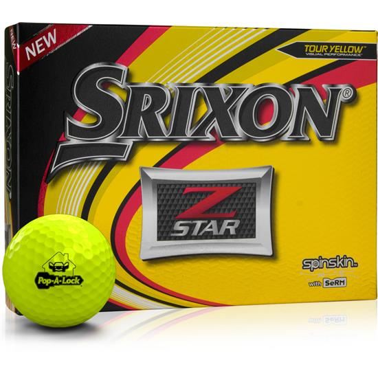 Srixon Z Star Yellow Golf Balls