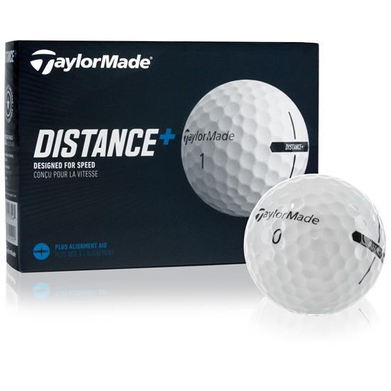 Taylor Made Distance+ Golf Balls - 2021 Model