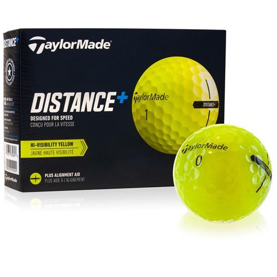 Taylor Made Distance+ Yellow Golf Balls