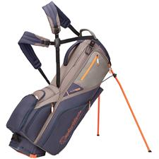 Taylor Made FlexTech Crossover Personalized Stand Bag - Slate-Titanium