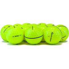 Taylor Made Prior Generation TP5x Yellow Logo Overrun Golf Balls
