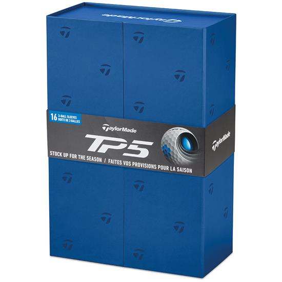 Taylor Made TP5 Golf Balls - Buy 3 DZ Get 1 DZ Free
