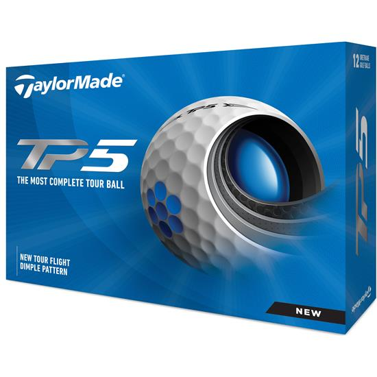 Taylor Made TP5 Golf Balls - 2021 Model