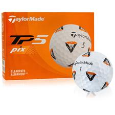 Taylor Made TP5 PIX 2.0 Golf Balls - 2021 Model