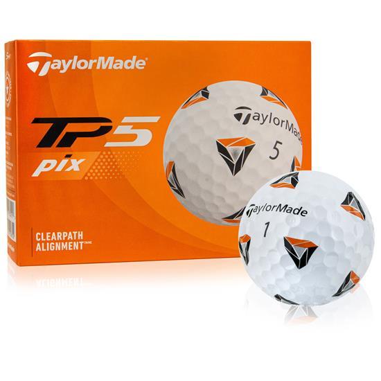 Taylor Made TP5 PIX 2.0 Golf Balls - 2021 Model