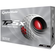 Taylor Made Custom Logo TP5x Golf Balls - 2021 Model